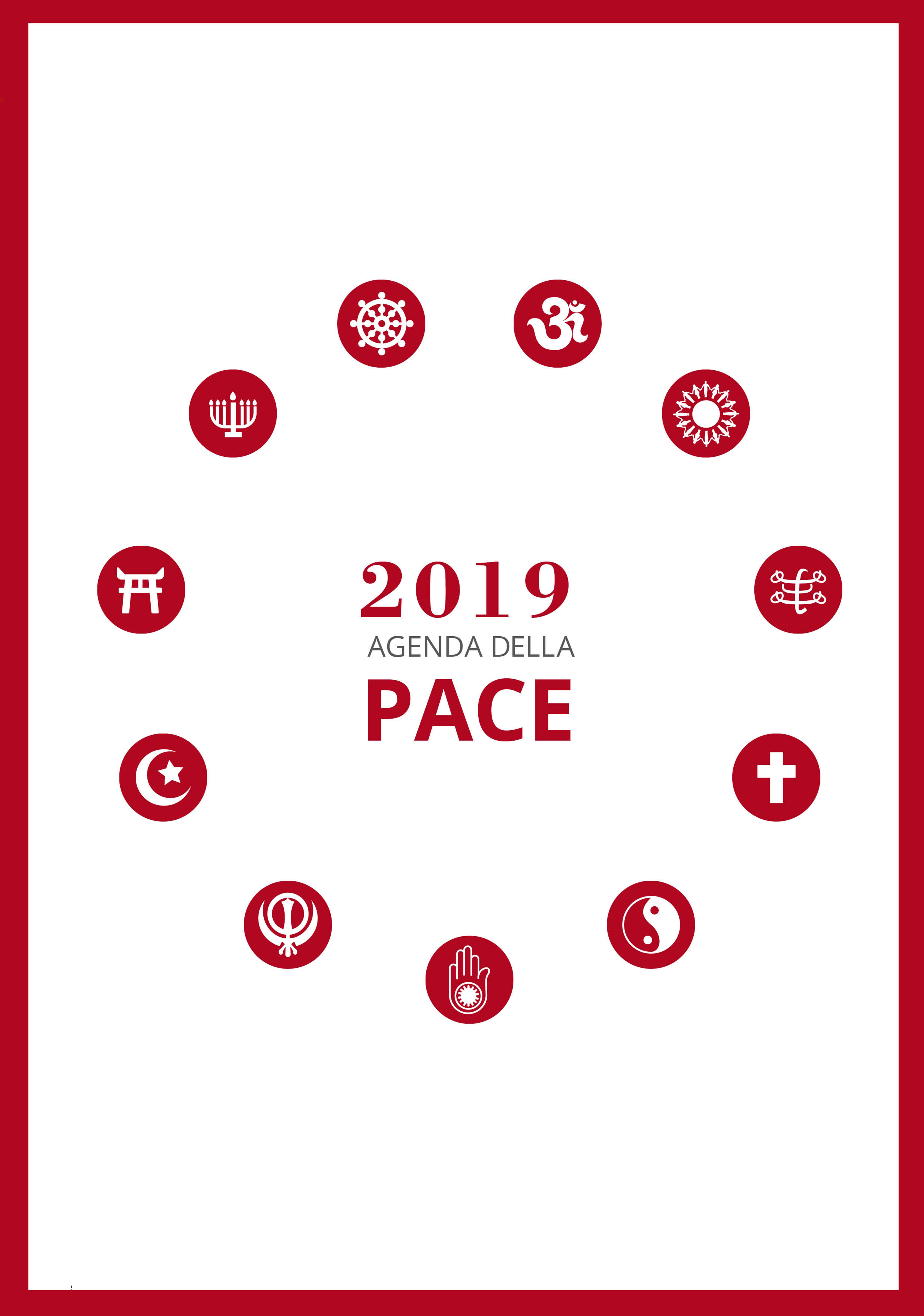 agenda della pace 2019