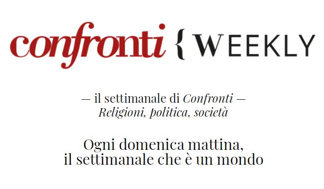 Iscriviti per ricevere il Weekly